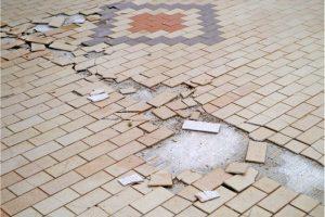 Beaverton Cracked Tile Repairs